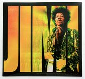 Jimi Hendrix  - 'Jimi' Square Sticker